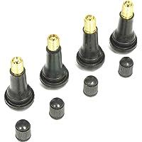 TR413 Lot de 4 valves enfichables pour pneu Longueur 43 mm