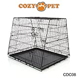 COZY PET Car Dog Cage for BMW X5 Mercedes-Benz ML GLE Picasso Range Rover Ford Galaxy Crate Crates Model CDC08 (We do not ship to Northern Ireland Scottish Highlands & Islands Channel Isles IOM IOW)