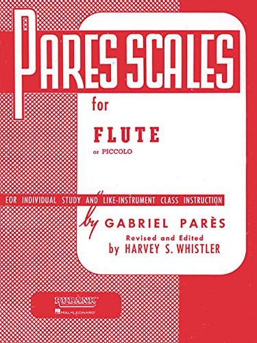 Pares Scales Flute Or Piccolo