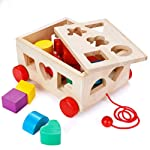 Shape Sorter Toy, Building Toys Children Educational Building Blocks Toys for Babies Early Educational Game Toy Toddlers...