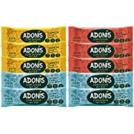 ADONIS Low Sugar Mixed Nut Bar Box | 100% Natural, Low Carb, Gluten Free, Vegan, Paleo (10)