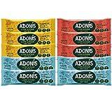 ADONIS Low Sugar Mixed Nut Bar Box   100% Natural, Low Carb, Gluten