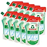 10x Frosch Spiritus Glas-Reiniger Nachfüllbeutel 500 ml