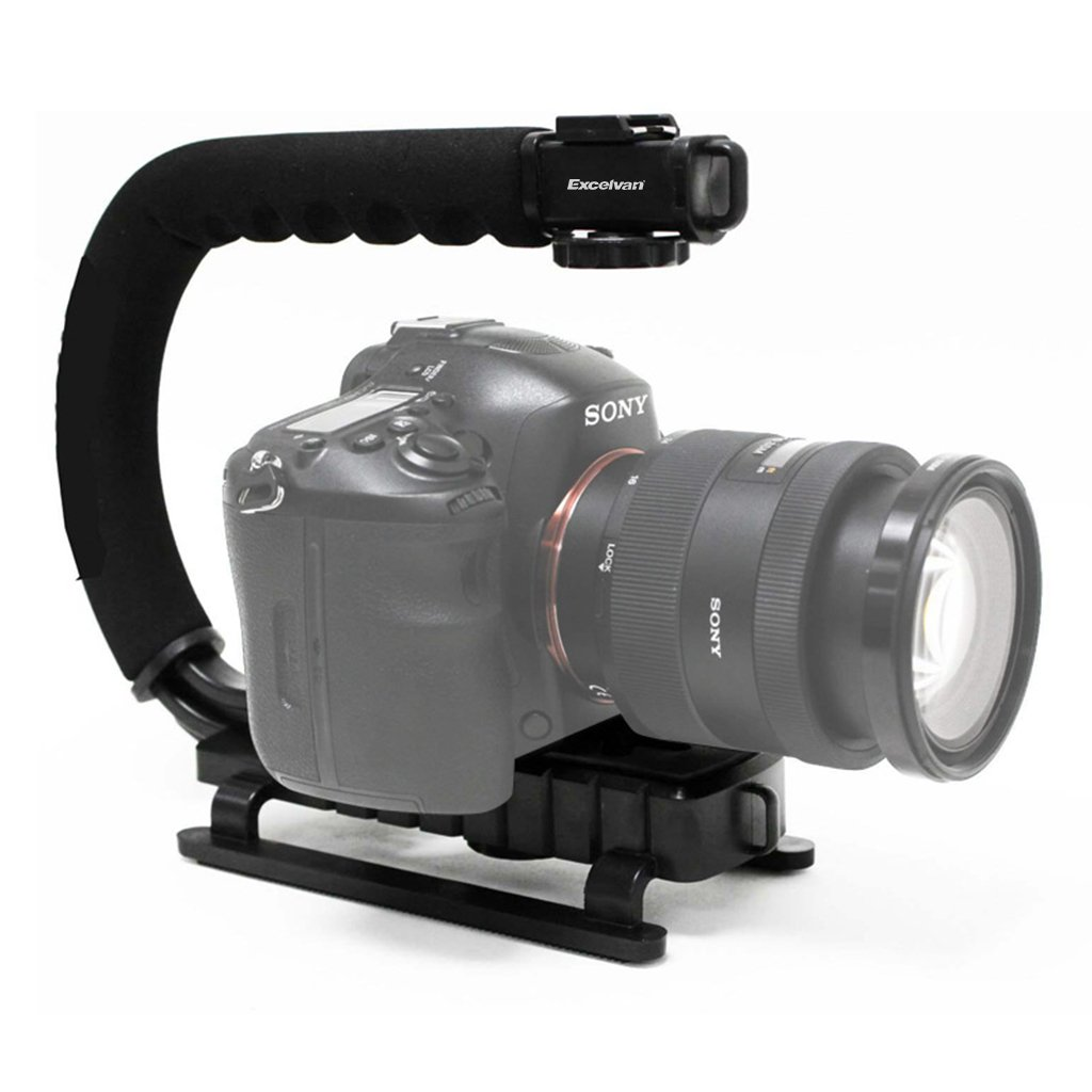 Treppiede oscillante Grip Handheld Stabilizzatore Video per Canon Nikon Sony DSLR Camcorder d' azion