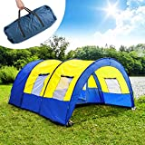 TecTake Camping tent tunnel with foyer 4 - Best Reviews Guide