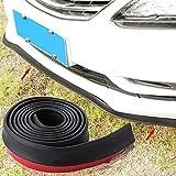 Car Rubber Front Bumper Guard Lip Spoiler Edge Strip Protection-fit Most Car Like BMW E46 E52 E53 E60 E90 E91 E92 E93 F01 F30 F20 F10 M3 M5 M6 X1 X3 X5 X6