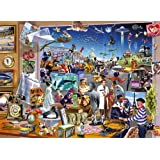 Gibsons - Movie Madness 1000 Piece Jigsaw Puzzle