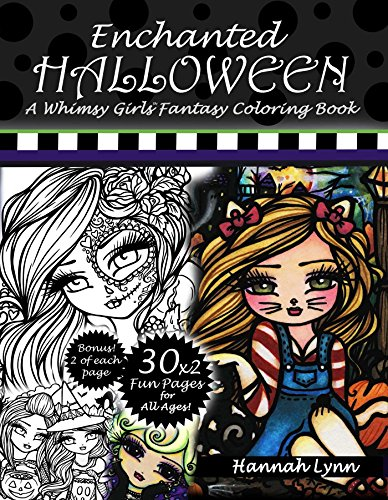 (Enchanted Halloween: A Whimsy Girls Fantasy Coloring Book)