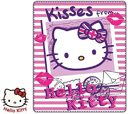 Hello Kitty Manta Manta forro polar 140x 120cm