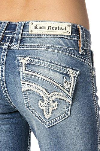 Rock And Revival Damen Jeanshose Denim