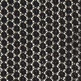 Fabulous Fabrics Spitzenstoff Kreise – schwarz/altgold