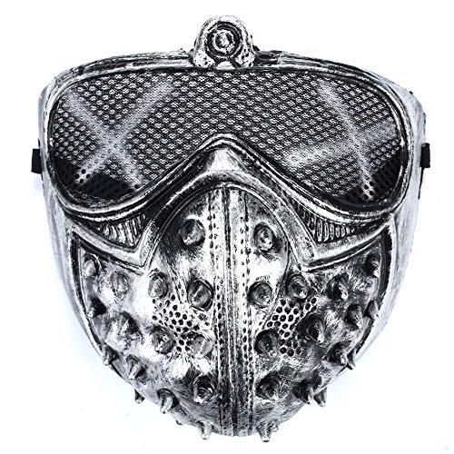 Gladiator Maske Kostüm - YUYDYU Gladiator Maske Sexy Facepiece Headgear Halloween-Kostüm schmücken