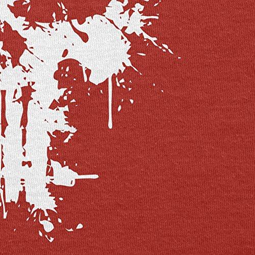 Texlab–PUNISH Splash–sacchetto di stoffa Rot
