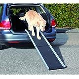 Trixie Rampe en aluminium pliable Petwalk pour chien, 155x 38cm, noir