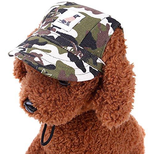 (Minkoll Hunde, Baseball-Cap, Sommer, Sport, Reisen, camouflage-m)
