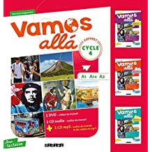 Vamos Alla Cycle 4 Lv2 - Coffret Classe 3 CD Audio + 3 DVD