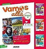 Vamos Alla Cycle 4 Lv2 - Coffret Classe 3 CD Audio + 3 DVD