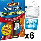 Best Comprar deshumidificadores - 6 x Wardrobe Dehumidifier- Hanging Wardrobe Dehumidifier Ideal Review