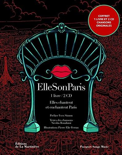 Ellesonparis. Elles chantent Paris - 20 artistes interprètent 20 arrondissements (2CD audio)