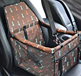 PETCUTE Foldable Pet Car Booster Seat Carrier For - Best Reviews Guide