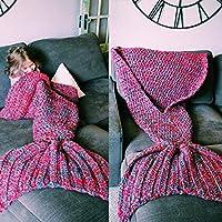 SB @ sirena coda sottile aria condizionata coperta coperta divano coperta a maglia coperta singolo ufficio Casual NAP coperta Verde smeraldo