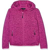 CMP Disegna Chaqueta de Forro Polar niña 1m55245, Primavera/Verano, niña, Color Hot Pink Mel/Berry, tamaño 140