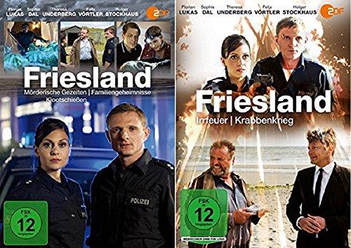 Mörderische Gezeiten / Familiengeheimnisse / Klootschießen / Irrfeuer / Krabbenkrieg