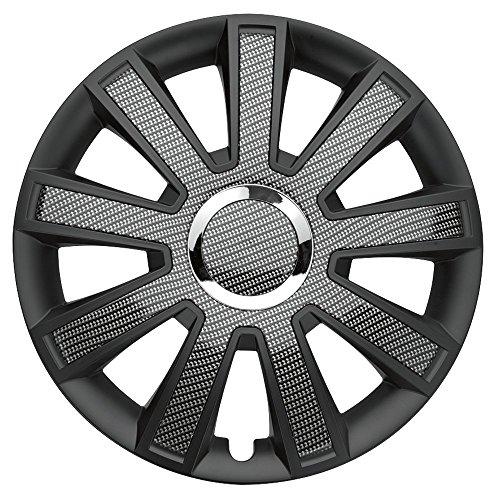 FLASH CARBON DARK - 16 Zoll, passend für fast alle VW z.B. für T5 Einzelsitz