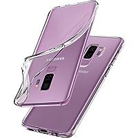 Spigen 593CS22913 Liquid Crystal für Samsung Galaxy S9 Plus Hülle, Transparent TPU Silikon Handyhülle Durchsichtige…