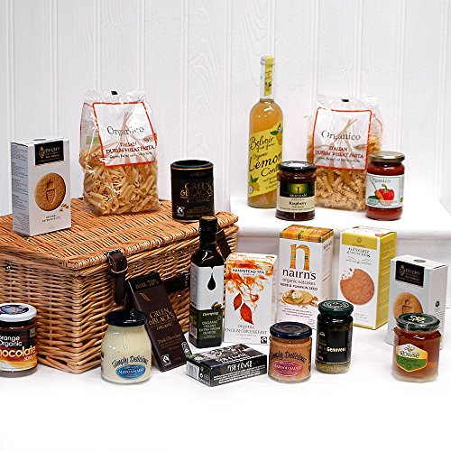 The Imperial Organic Gift Food Hamper (19 Items) - Gift ideas for Mother's Day, Birthday and more