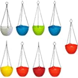 GTB Flower Pot Hanging/with Chain Flower Pot for MULTIUSE (9)