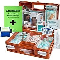 """Erste-Hilfe-Koffer Quick mit""""Notfallbeatmungshilfe"""" für Betriebe DIN/EN 13157 + DIN 13164 für KFZ preisvergleich bei billige-tabletten.eu"""