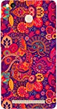 Jikraa Plastic 3D All Round Floral Pattern Print Waterproof Back Cover for Xiaomi Redmi MI 3S Prime Multi-Coloured