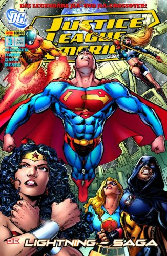 Justice League of America Sonderband #3: Die Lightning- Saga (2007, Panini)