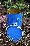 Stahl Spannring Deckelfass 200 Ltr - / mit DOPPELZULASSUNG / Stahlfass Blechfass Spundfass Ölfass