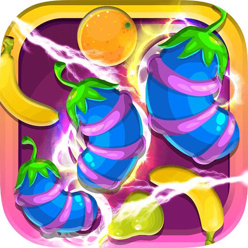 Fruit Swipe Mania - Soda Pop Match 3 Mania Puzzle Game