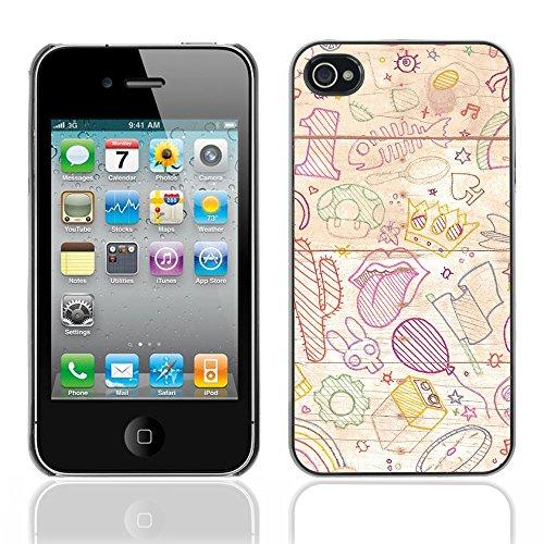 Graphic4You Mermaid Underwater Design Harte Hülle Case Tasche Schutzhülle für Apple iPhone 4 und 4S Design #17