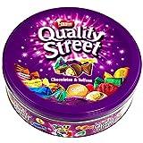 #10: Nestle Quality Street Chocolates & Toffees Tin Box, 240g