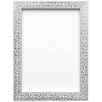 Flat Bright//Mirror effect// Mosaic Picture//Photo frame A4 A3 Silver Gold Black