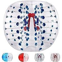 Inflatable Body Bumper Bubble Ball PVC Bubble Soccer Balls Human Hamster Ball, Bumper Ball, Zorbing Ball, Loopy Ball , blue , 1.2m