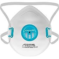 5 Stück ACE ProTec FFP3-Masken - Einweg-Staubschutzmaske mit Ventil - EN 149 - Staubmaske gegen Asbest & Schimmel