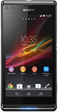 Sony Xperia L Smartphone (10,9 cm (4,3 Zoll) Touchcreen, 1GHz, Dual-Core, 1GB RAM, 8 Megapixel Kamera, NFC, Android 4.1) schwarz
