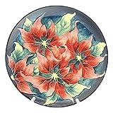 Old Tupton Ware - Poinsettia Design - Decorative Plate
