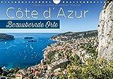 CÔTE D'AZUR Bezaubernde Orte (Wandkalender 2018 DIN A4 quer): Impressionen aus Südfrankreich und Monaco (Monatskalender, 14 Seiten ) (CALVENDO Orte) [Kalender] [Apr 08, 2017] Viola, Melanie