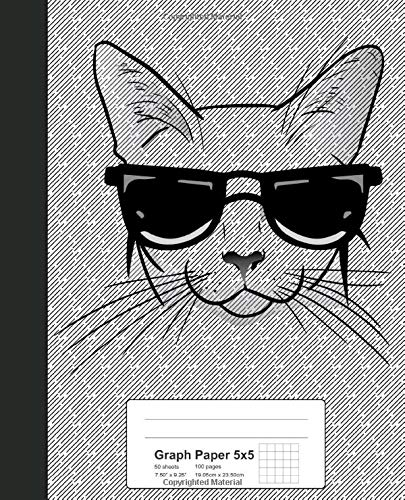 Graph Paper 5x5: Book Tonkinese Cat (Weezag Graph Paper 5x5 Notebook, Band 274)