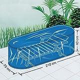 Flex-Cover Schutzhülle Sonnenliege Abeckhaube für Liege 210x75x40cm