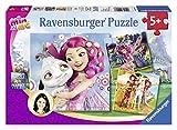 Ravensburger 092536 - Mia und Me, 3 x 49 Teile