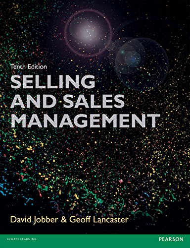 Selling and Sales Management 10th edn (Foundation Studies in Law Series) (English Edition) -