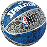 Best Basketball Balls - Spalding Graffiti Basketball - Multi-Colour, Size 7 Review