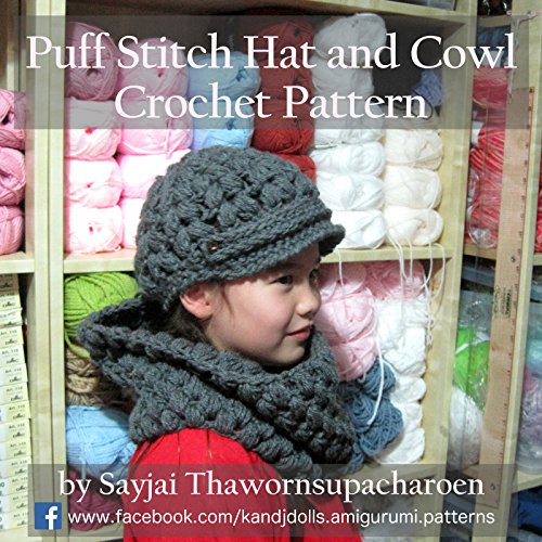 puff-stitch-hat-and-cowl-crochet-pattern